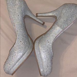 Wild Rose Sparkle Heels